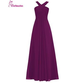 Robe Demoiselle D'honneur Bridesmaid Dresses Long 2020 Chiffon Plus Size Vestido Madrinha Longo Wedding Party Dresses