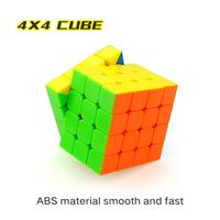 LeadingStar 4Pcs Speed Cube Brain Teaser Gift Box Set Stickerless Puzzle Magic Cube zk35