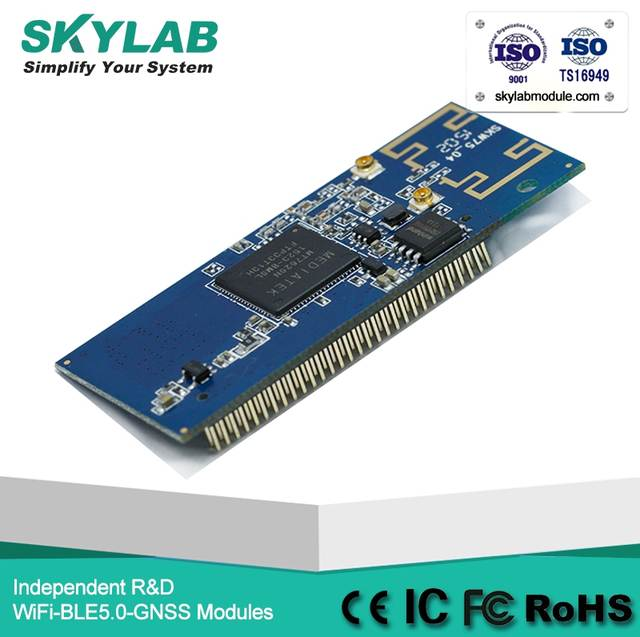 Skylab Low Power Consumption Wifi Repeater USB Interface Ethernet MT7620N  Openwrt 8Gpios Wifi Router Module For Arduino