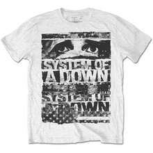 Awesome T Shirts For Guys O-Neck Short Sleeve Regular Mens System Of A Down Torn Tee Shirt