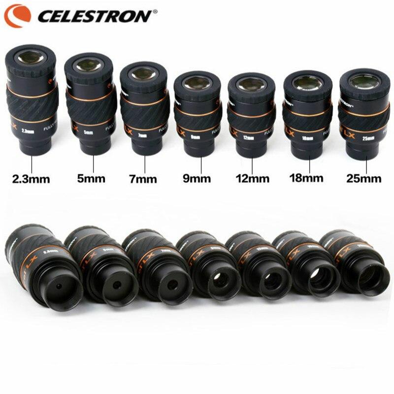 Celestron X CEL LX 2 3 mm 5 mm 7mm 9mm 12mm 18mm 25 mm Eyepiece