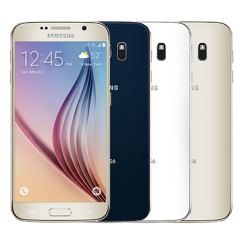 Image 5 - Unlocked Original Samsung Galaxy S6 G920F/V/A phone Octa Core 3GB RAM 32GB ROM LTE WCDMA 16MP 5.1 inch Wi fi Android Smartphone-in Cellphones from Cellphones & Telecommunications