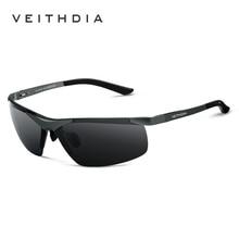 Alumunum Men's Polarized UV400 Mirror Sunglasses