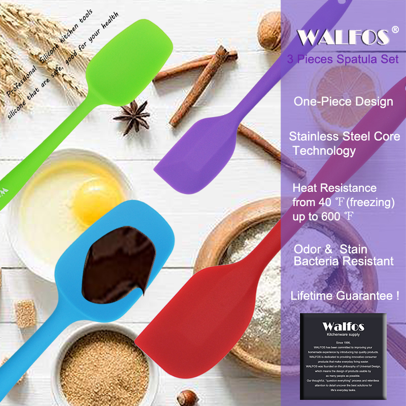 WALFOS matlagning Non Stick smörlagning silikon spatel uppsättning - Kök, matsal och bar - Foto 3