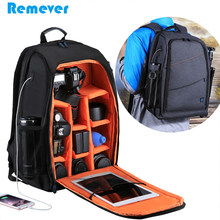 New Universal Waterproof Camera Bag Compartments Multi-function Backpacks  for Sony Canon Nikon Samsung DSLR Cameras Accessories f70538a85878b
