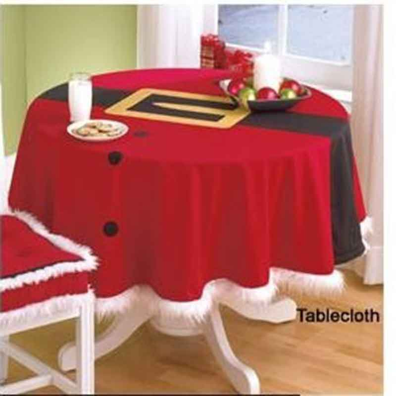 Embroidered Tablecloth Red Color Dining and Coffee Table Cover for Restaurant Banquet Party Dinner Wedding Decoration 148CM ...