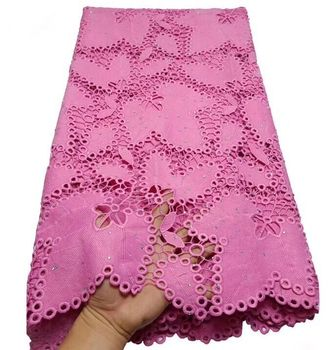 Hot Sale French cord Lace Fabric Nigeria Lace with stone Fabric High Quality African Tulle Lace Fabric For Wedding Party Dress