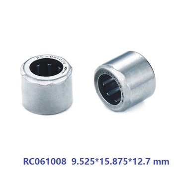 """50pcs/lot RC061008 3/8""""x 5/8""""x 1/2"""" Inch Size One Way Clutch Needle roller Bearing 9.525*15.875*12.7 mm"""