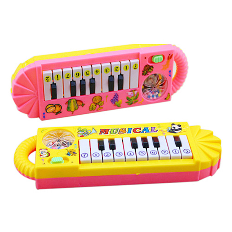 0-7age Baby Infant Musical Piano Developmental Toy Toddler Kids Early Educational Musical Instrument W20
