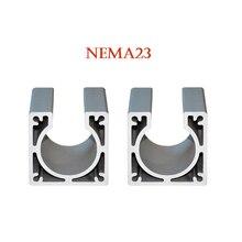 Nema23 CNC Motor mounts base 57*45mm stepper motor bracket for cnc machine
