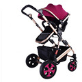 Pushchair Deluxe High Vision Fashion Baby Trolley Excellent Quality Baby Buggy Pram and Baby Pushchair light folding
