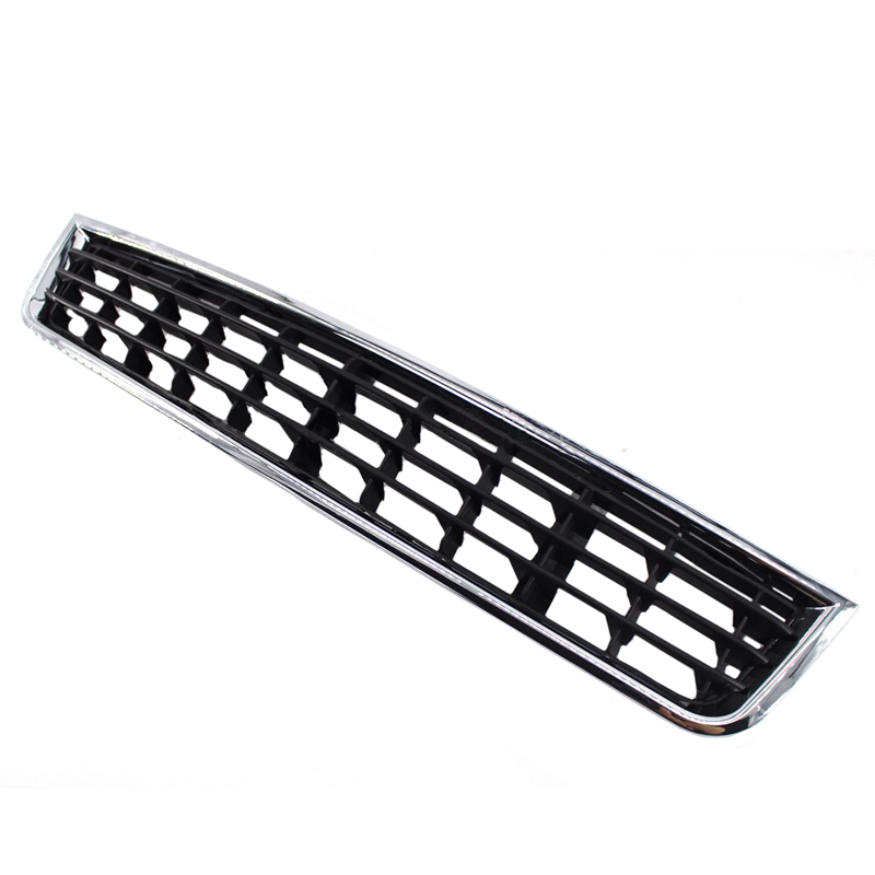JEAZEA Auto ABS Chrome Front Bumper Center Lower Grille Grills for Audi A4 B6 Sedan Car