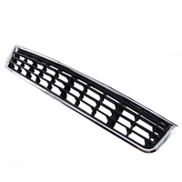 Auto ABS Chrome Front Bumper Center Lower Grille Grills For Audi A4 B6 Sedan Car Accessories