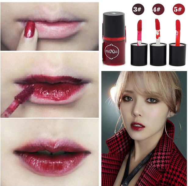 Red Lips Makeup Korean