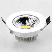1X Super Bright Dimmable Led downlight light COB Ceiling Spot Light 3w 5w 7w 12w LED ceiling recessed Lights Indoor Lighting