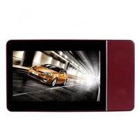 8 GB 4.3 inç HD çözünürlüklü dokunmatik ekran Mp4 Mp5 çalar + TV çıkışı + Görüntülü + FM radyo Oyunu konsol MP3 Süper şok subwoofer dışadönük