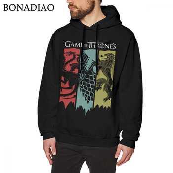 Game Of Thrones sweatshirt House Targaryen Stark Lannister Long Sleeve Men Cartoon Homme hoodies O-neck