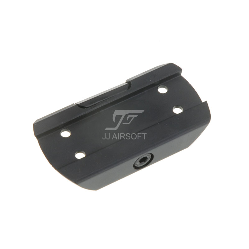 JJ Airsoft Low Mount for T1 / T-1 / T2 / T-2 / TARGET TR02 Red Dot (Black)
