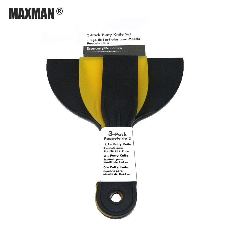 MAXMAN Putty Knife Construction Tools Paint Scraper Tool Dry Wall Painting Plastering Scraper Plastic Lowest Price Caulk