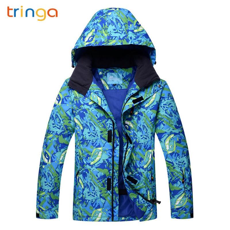 2020 New Hot Men Winter Outdoor Windproof Waterproof Mountain Ski Jacket Snow Snowboard Jackets Winter Warm Sports Jacket