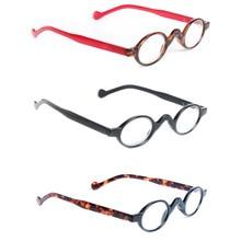 1f8500bef08 3 Pack Reading Glasses Retro Vintage Mini Eyeglasses Small Round Frame  Readers Men Womens Presbyopic glasses