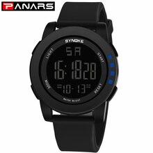 PANARS Men Watches Luxury Brand LED Waterproof Digital Fashion Sport Watch Military Sport Men's Male Clock Men Relogio Masculino