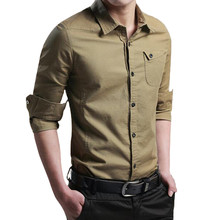 MOTUWETHFR 7XL 6XL 5XL Plus Size Men Casual Long Sleeve Print Male Shirt Autumn