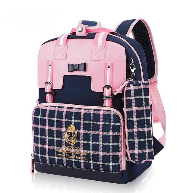 256f1bdad2b3 Cute Girls Backpacks Kids Children School Bags For Girls Orthopedic  Waterproof Backpack Child School Bag Mochila