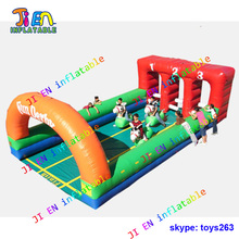 free shipping inflatable derby race hoppers race giant horse hopper air blow inflatable fun derby game for adult and children(China)