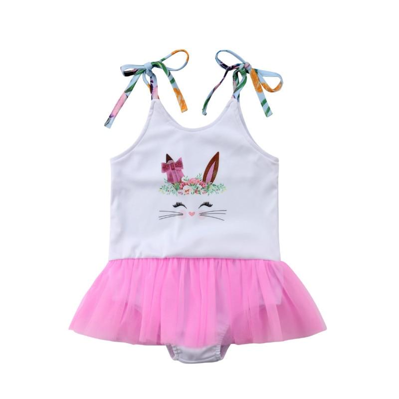 Bodysuits Open-Minded Children Kids Girl Jumpsuit Jumper Bodysuit Sleeveless Floral Backless Summer Sunsuit Yh-17