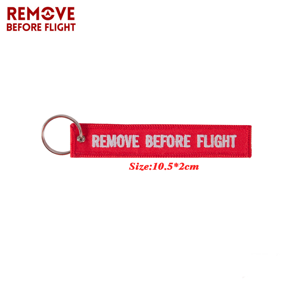 keychains remove before flight
