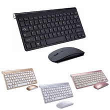 New Ultra Slim 2.4GHz Wireless Keyboard With Mouse Mice Kit Set For Desktop Laptop PC Computer XXM8