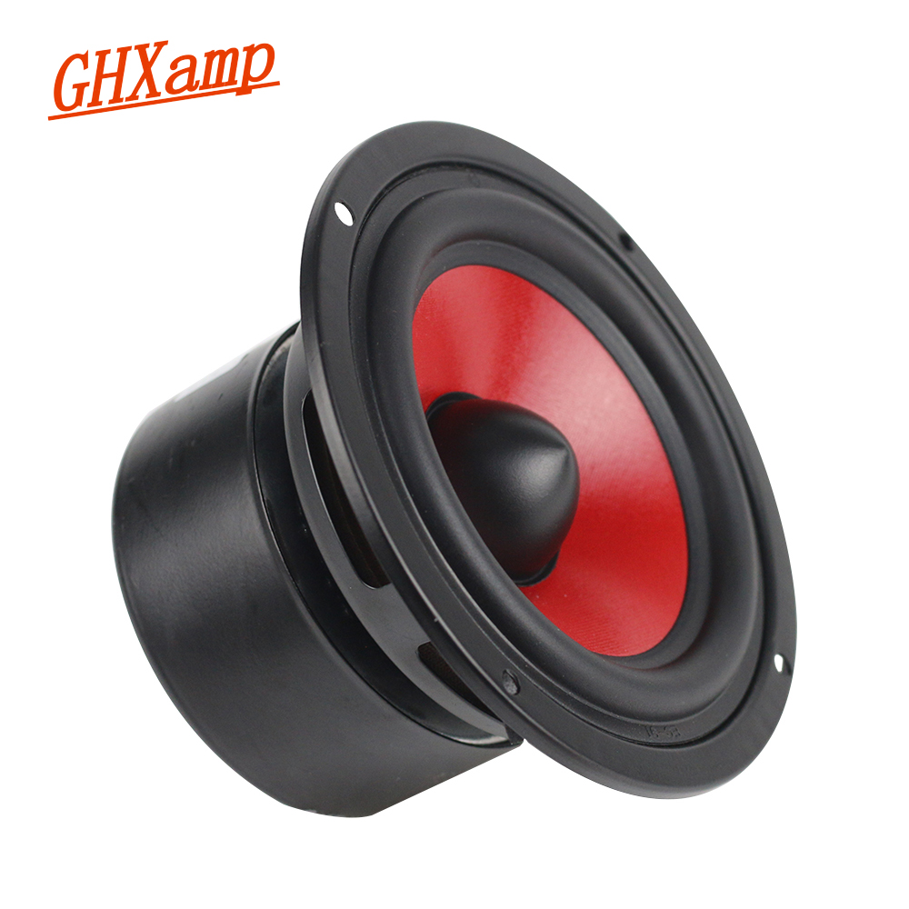 GHXAMP 4 INCH 40W Woofer Subwoofer Speaker HIFI Bookshelf 2 Way Bass Units Upgrade 21 51 Surround Sound Box DIY 1PCS