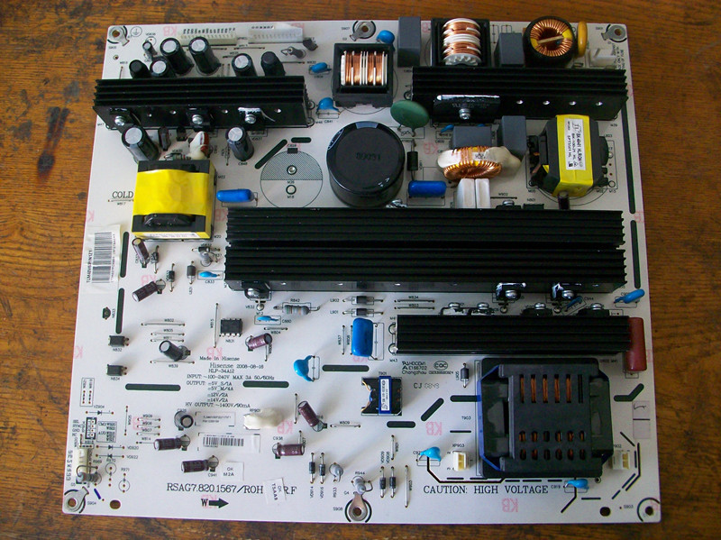 100% Tested RSAG7.820.1567/ROH Power Board(work 46inch tv) rsag7 820 1666 roh original lcd power board