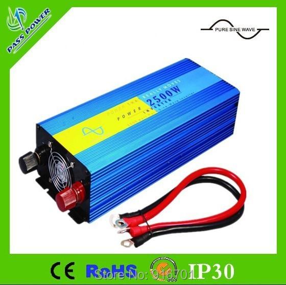 цена на High Efficiency 3000W DC12V/24V/48V Pure Sine Wave Inverter, Solar Power Inverter