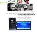Auto No carro-styling Traço Toque Carro USB/SD/MP3/MP5 Player AUX Rádio FM Estéreo Bluetooth Duplo DIN + Câmera mar1