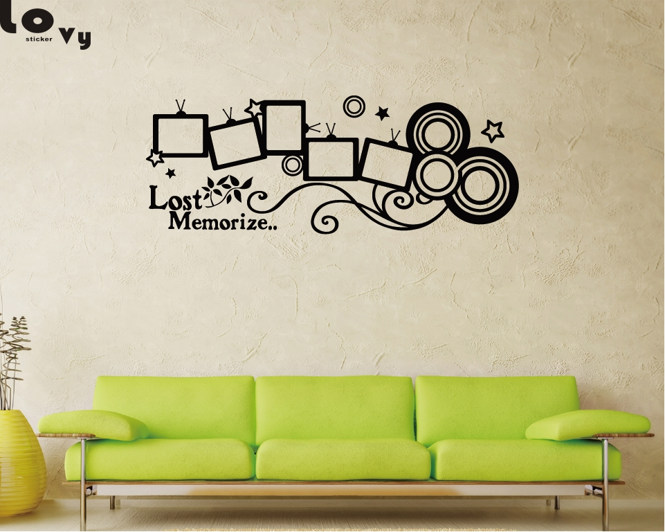DIY Stickers Wall Decal Home Room Living Room Family Removable Bedroom