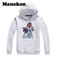 Add to Wish List. Men Hoodies Dak Prescott 4 DAK D4K Cartoon Sweatshirts  dallas Hooded Thick for cowboy fans gift 5b08b627e