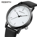 2016 REBIRTH Watch Women Leather Quartz Watches Digital Brand Luxury Popular Watch Women Casual Fashion Wristwatches RE020B