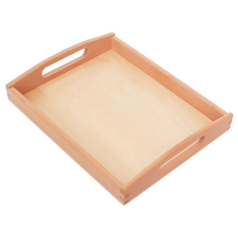 En bois Montessori Matériaux Montessori Plateaux Matériaux Sensoriels Jouets Éducatifs pour Enfants En Bas Âge Juguetes Brinquedos YG1144H - 4