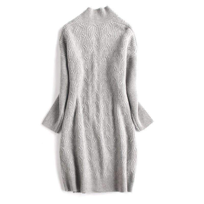 xl Chèvre Drop Chandail Manches Large Cachemire 100 Femmes Grey Tricot Mode Manteau M Long Light épaule Rretail Lâche Cardigan Gros De Camel adSw7