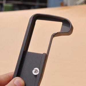 Image 2 - Dayanıklı hızlı bırakma L braketi Tripod plaka tabanı kamera kavrama kolu Olympus O MD E M1 II OMD EM1 (mark II) dijital kamera
