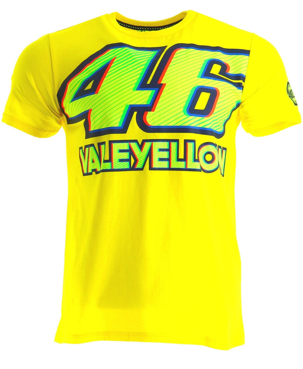 30334595e3 Envío libre 2017 Valentino Rossi VR46 negro camiseta el doctor MotoGP 46  Motores deportes amarillo