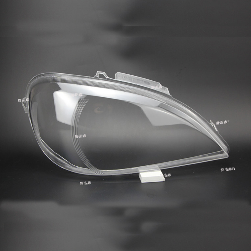 ml163 lampshade Headlight cover Lens glass lamp protection headlight plastic for Mercedes-Benz W163 ML320 ML350 ML500 image