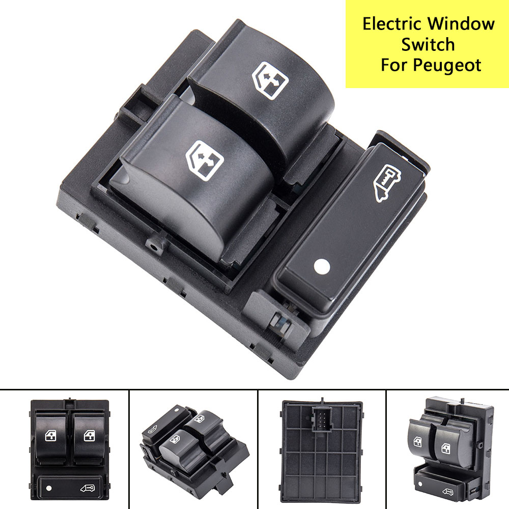 Electric Window Triple Switch Control Button For Fiat Ducato Doblo Citroen Jumper II Peugeot Boxer II 2006 2007 2008 2009-2014