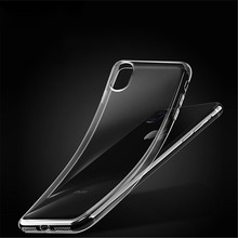 2018 Phone Case For Iphone X 5 5s Se 6 6s 7 Plus 8 Luxury Ultra Thin Silica Gel Soft Transparent Cases Back Cover Coque
