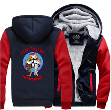 LOS POLLOS Hermanos Breaking Bad Men Sweatshirt 2017 Winter Warm High Quality Mens Hoodie Chicken Brothers Slim Fit Coat