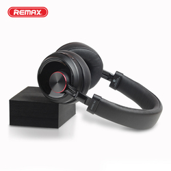 Remax Bluetooth Headphones User-defined Active Noise Cancelling Wireless Headset for phones and music with face recognition