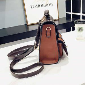 Image 5 - Mochila Vintage de cuero Pu para mujer, estilo Simple Preppy, famosa mochila universitaria, mochilas para mujer