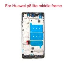 Jpfix для Huawei P8 Lite ALE-L21 ALE-L23 Передняя средняя рамка Корпус задняя крышка Замена